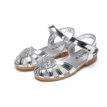 1d176d260f Buy girls silver sandals and get free shipping on AliExpress.com