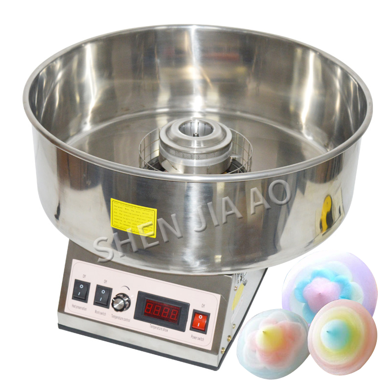 Commercial Cotton Candy Maker Electric candyfloss DIY sugar floss flower type Cotton Candy machine stainless steel 110V 220V    Commercial Cotton Candy Maker Electric candyfloss DIY sugar floss flower type Cotton Candy machine stainless steel 110V 220V
