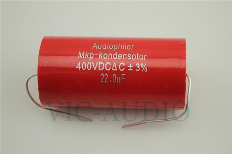 1PC Audiophiler MKP-Kondensotor 400VDC 22UF Capacitance 400V 22.0UF 3% Audio Capacitor Free Shipping