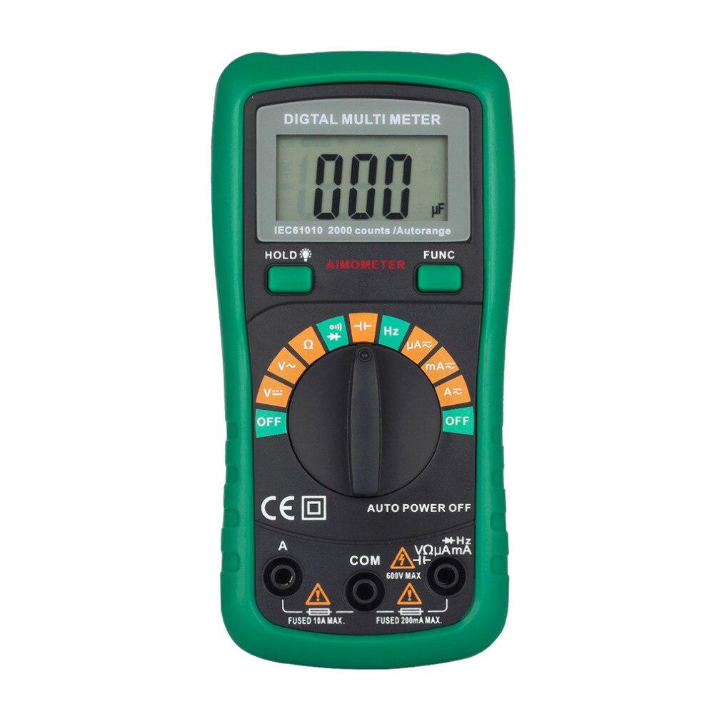 Новый MS8233D Pro мультиметр с 2000 мкФ емкости и frequncy измерения Авто Диапазон Цифровой мультиметр VS UT136B UT120C