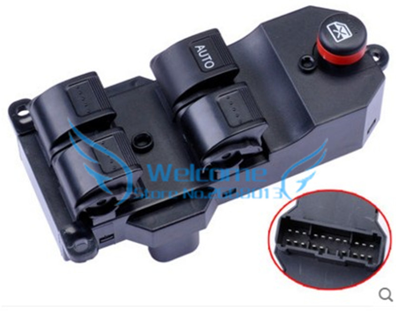 Original AUTO PART master switch door window switch Glass lifter switch Main switch for Honda City 2003-2007