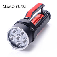 Underwater 200m Diving Flash torch 6 XML L2 LED Diver Flashlight 6L2 Head Torch Light Lamp Lantern With Stepless Dimming Switch