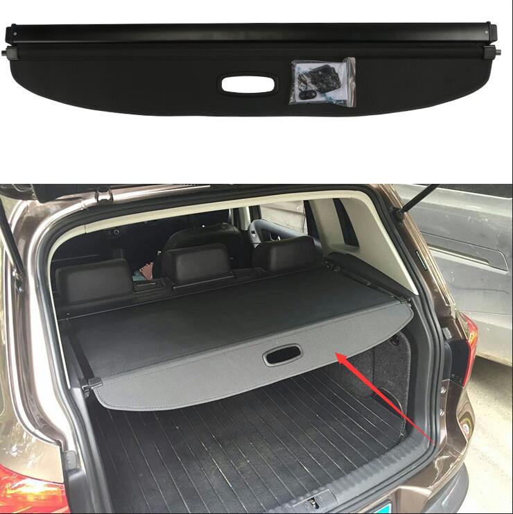 Quality case For Volkswagen Vw Tiguan 2010-2016 Black Rear Trunk Security Shield shade Cargo cover car styling free shipping 1 set black rear trunk cargo privacy cover shield parcel shelf cargo cover for mazda cx 5 2nd gen 2017 2018 car styling