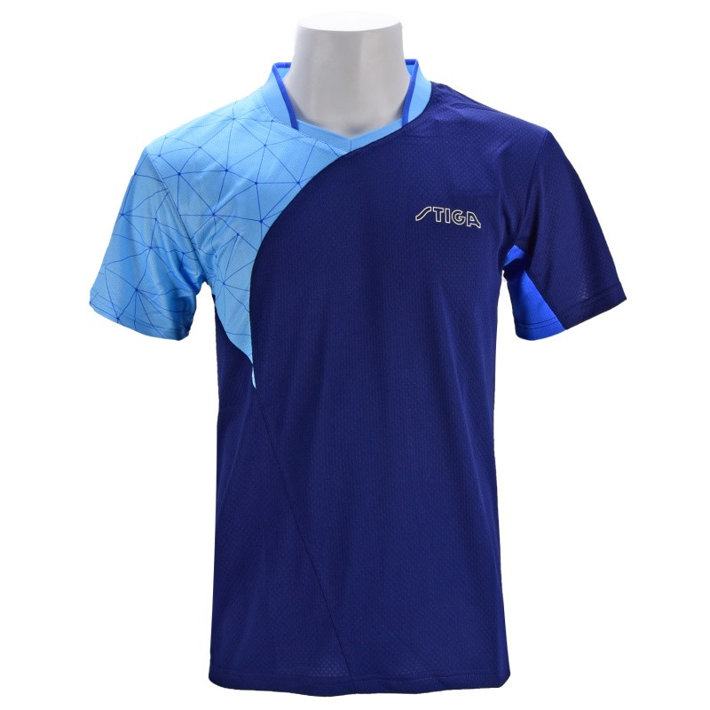New Stiga Spider Net Table Tennis Shirt Sport Table Tennis Jersey Badminton Jersey Clothes  Ca-431(China)