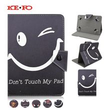 Kefo For ipad air 1 Universal Tablet Case Flip Stand PU Leather Cover For BQ TESLA 2 W10 WIFI 10 2 10.1 inch+Center Film+pen