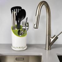 Kitchen   Cutlery   Storage   Bucket Flatware Organizer   Kitchen   Tableware Buckets For Fork Spoon Storing