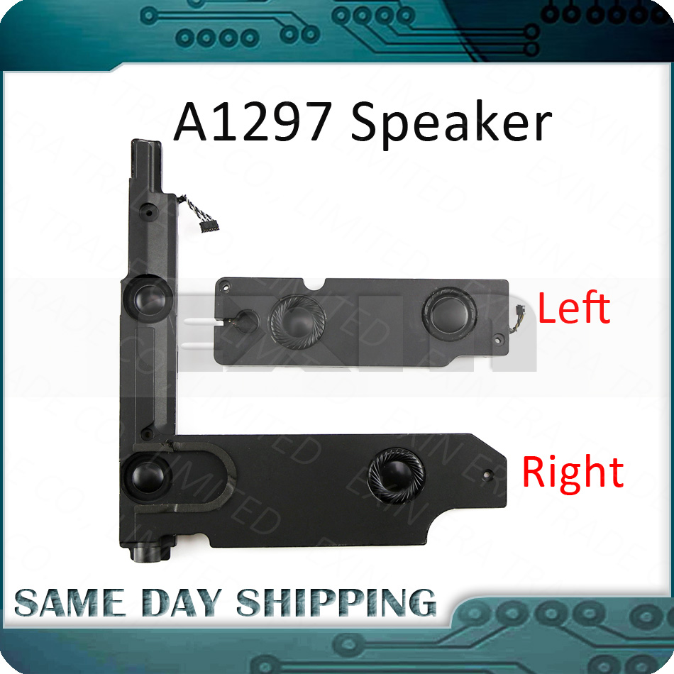 Used Laptop A1297 Left And Right Internal Speaker With Subwoofer Set Pair For Macbook Pro 17