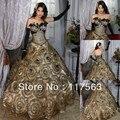 Frete grátis top glamous vestido de baile totalmente ruched strapless penas vestidos quinceanera CR011