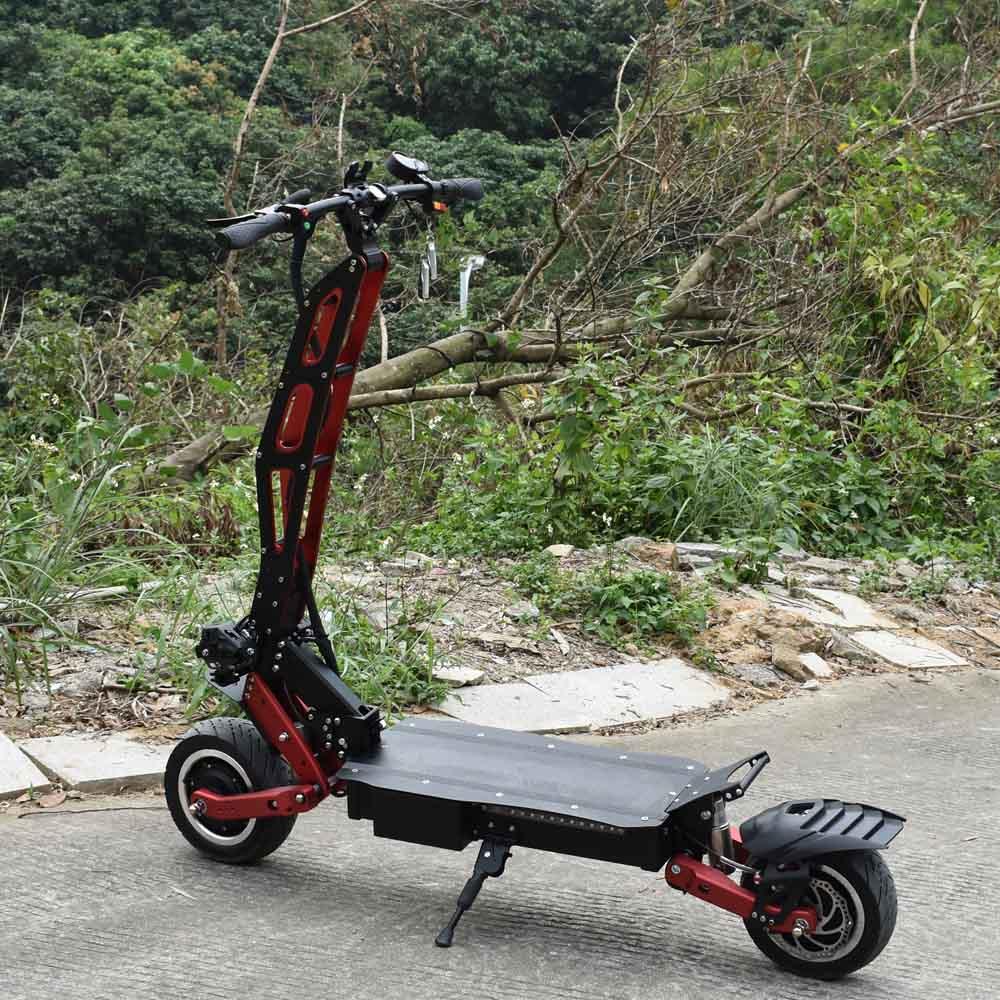 Citycoco 2 roues gros pneu suv puissance scooter électrique avec affichage de la vitesse de la plage de voltmètre 85 km/h