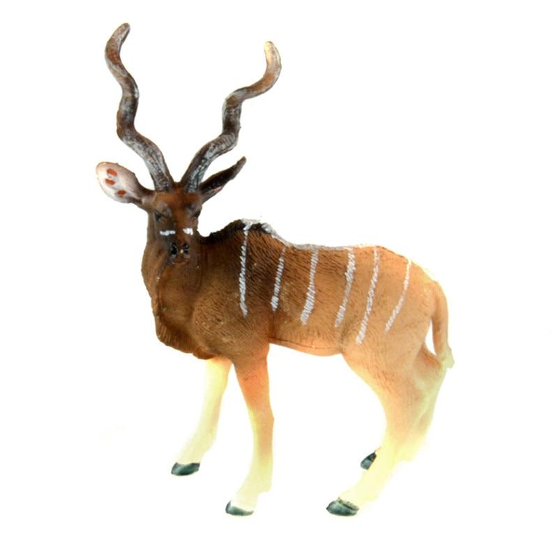 Starz Animals Kudu Static Model Plastic Action Figures Educational Toys Gift for Kids краска спрей для пластика белая kudu 520мл
