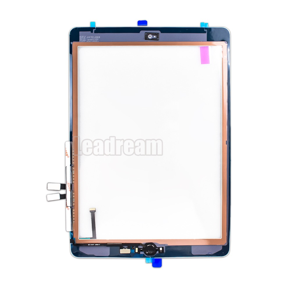 Home Button Replacement for iPad 6 2018 Touch Screen Digitizer A1893 A1954 Black