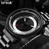 Original Break Photographer Creative Unique Watches Men Luxury Luxury Fashion Casual Sports Quartz Watch Relogio Masculino