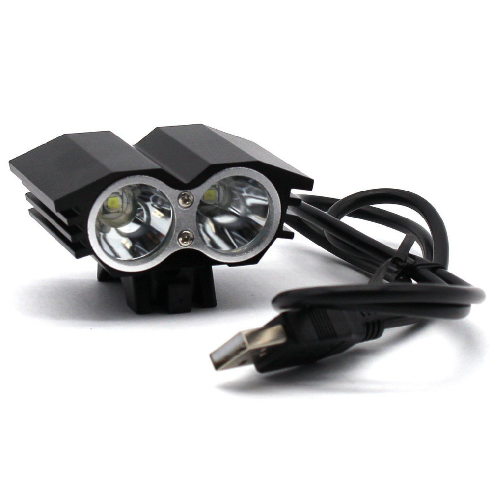 USB 5000lm XM-L T6 LED Bicycle Light Head Lamp Bike Headlight Mountain Road Lamp Torch Luces Led Bicicleta