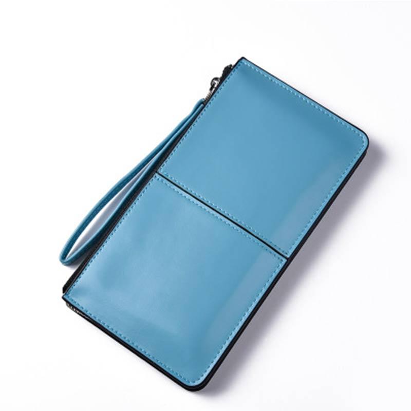 Women Long High-capacity Wallet Women 2 Fold Zipper Standard Purse Multi-function Fashion Wallet For Women Card Holder Billfold