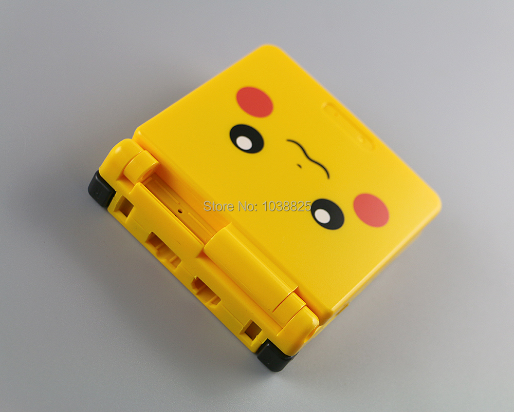 10sets/lot Cartoon Limited Edition Full Housing Shell for Nintendo Gameboy Advance SP for GBA SP Game Console Cover Case