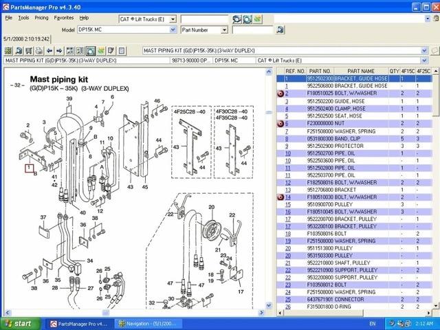 123 lift trucks 2008 electronic parts catalog and service manuals rh aliexpress com Genie Lift Manuals Cat Lift Manuals