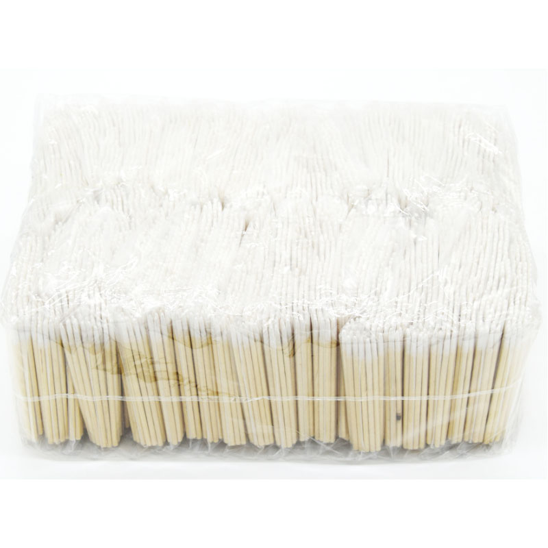 7cm 10cm Pointed Wood Cotton Head Tattoo Sticks Dedicated Clean Cotton Swab Stick For Pro Eyebrow Lip Tattoo Beauty Makeup