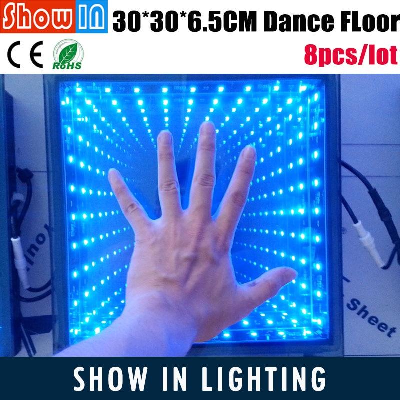 High Mirror Dance Floor Abyss Effect 36PCS 5050 SMD Decoration Wedding DJ Disco Party LED Dance Floor With Flightcase 12 12 feet starlit dance floor wedding dance floor led video dance panels for decoration