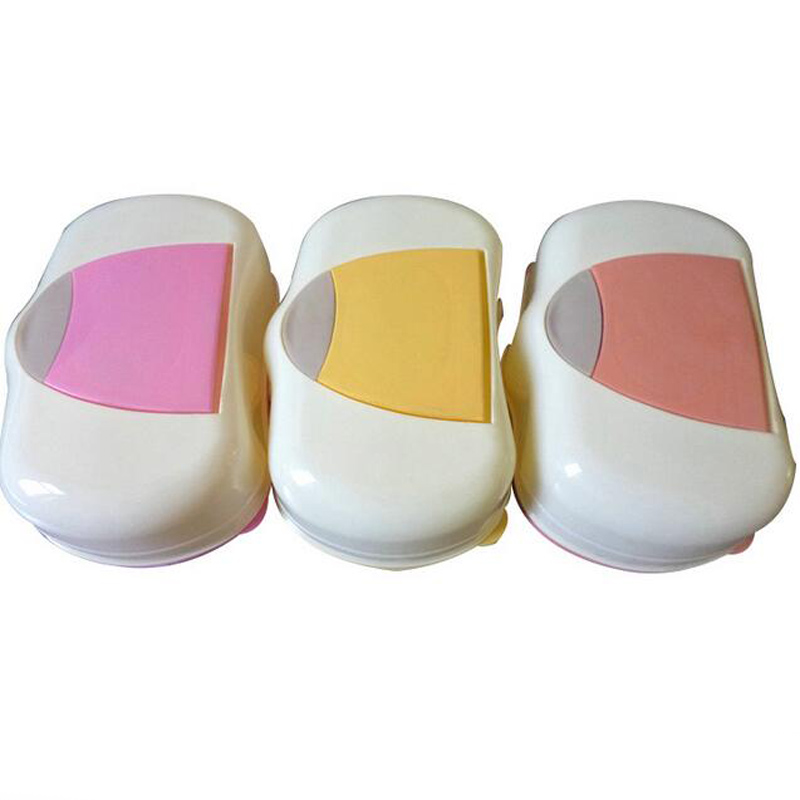 Wet Tissue Box Baby Wipes Plastic Automatic Case Real Tissue Case Press Pop-up Design Home Tissue Holder Accessories