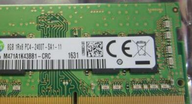 M471A1K43BB1-CRC for 4GB(1*4GB) 1RX8 PC4-2400T-SA1-11 Memory new condition with one year warranty