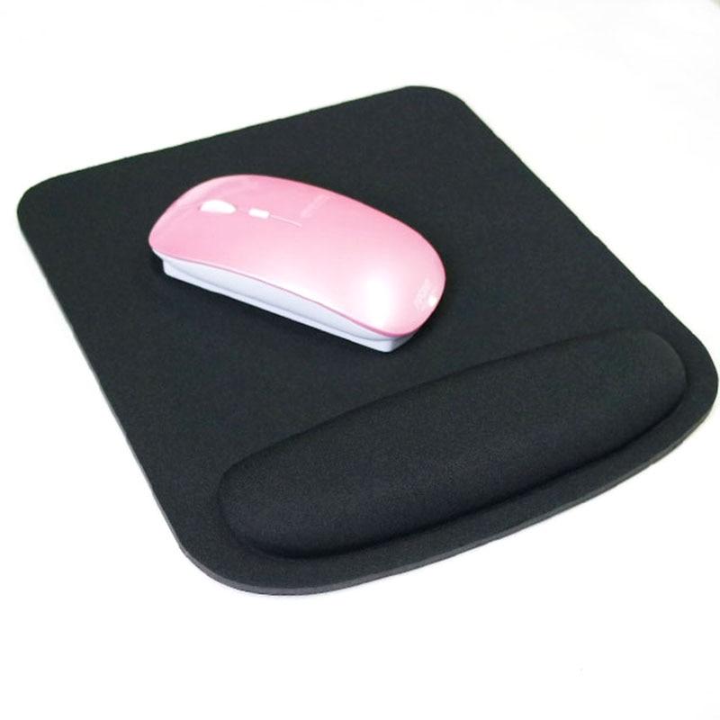 Black Professional Thicken Square Comfy Wrist Mouse Pad Para Óptico - Periféricos de la computadora - foto 2