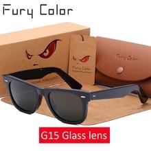 Lente de vidro retro óculos de sol dos homens das mulheres acetato óculos de sol 2140 marca luxo rebite design óculos femininos elegantes quadrados oculos