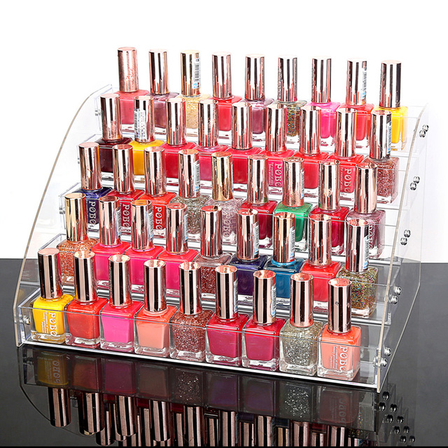 Mordoa Makeup Cosmetic 40 Tiers Clear Acrylic Organizer Mac Lipstick Cool Mac Lipstick Display Stand