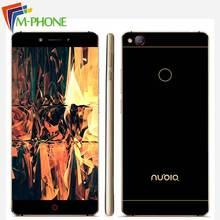 Оригинальный ZTE Нубия Z11 5.5 дюймов без полей 4/6 ГБ Оперативная память 64/128 ГБ Встроенная память мобильного телефона Snapdragon 820 4 ядра 16.0MP NFC Смартфон