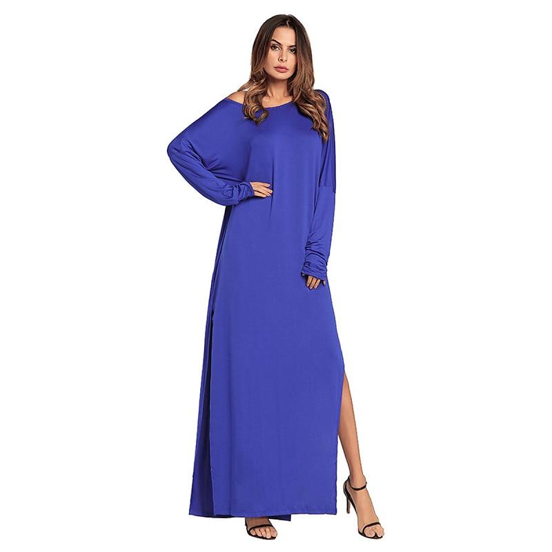 Compra gray long sleeve dress y disfruta del envío gratuito en ...