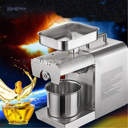 LY-302 Mini home cold small coconut oil extraction machine, Stainless steel Material 3-5kg/h Productivity Oil Pressers 220V/110V