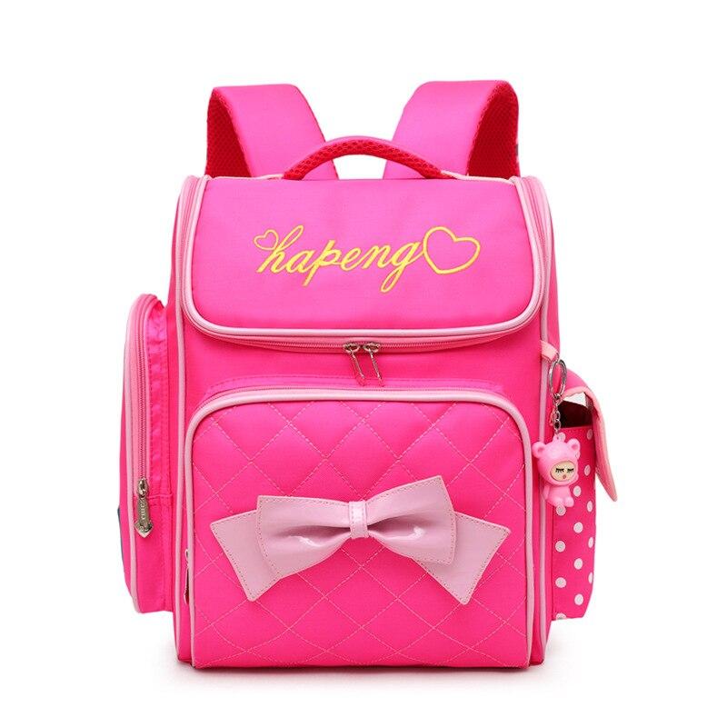 KOKOCAT New School Backpack Waterproof for Girl Children Lightweight Large Capacity Kids Backpack Solid Primary School Bags in School Bags from Luggage Bags