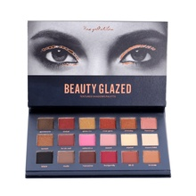 18 Colors Kylighter Mary Lou Manzer Makeup Eyeshadow Palette Eyebrow Cosmetic Shimmer Matte Glitter Diamond Pigment Eye Shadow