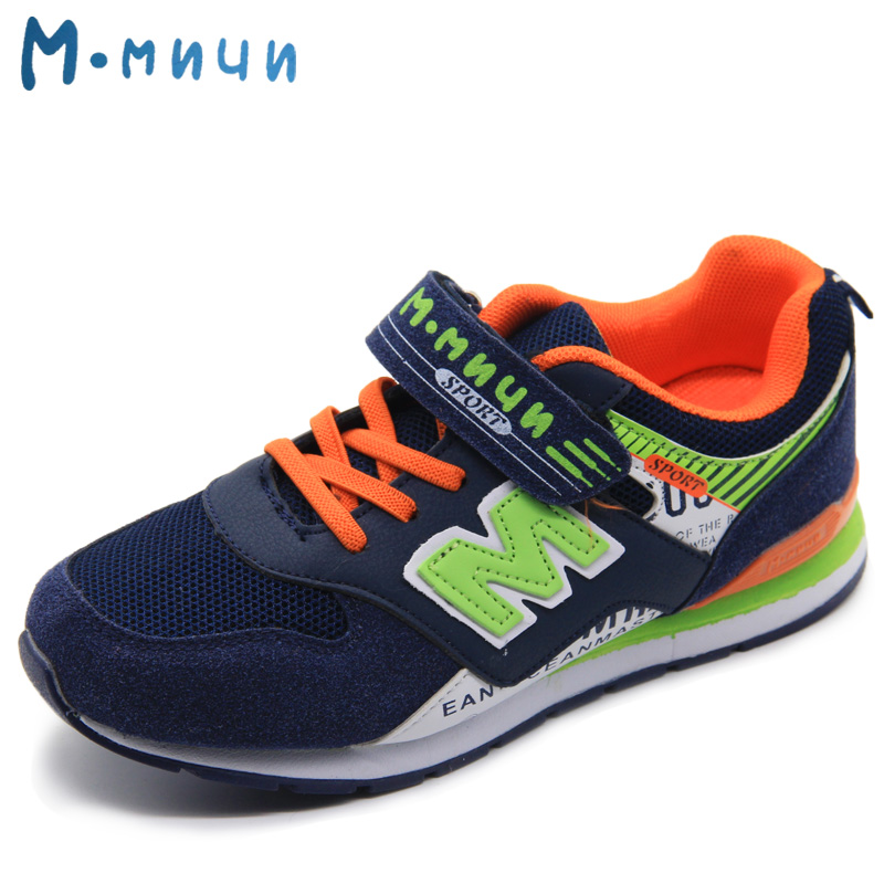 MMNUN 2017 Boys Sneakers High Quality Children Sneakers Toddler and Big Boys Shoes Breathable Children Shoes for Boys Sport Shoe