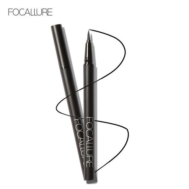 1 piezas caliente las mujeres de belleza cosméticos delineador de ojos negro impermeable de larga duración delineador de ojos lápiz pluma maquillaje