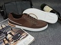 Hot sale Herrskor Flats brown walking shoes zapatos al por mayor Genuine Leather Deodorization Breathable 4 colors, 39-47 size
