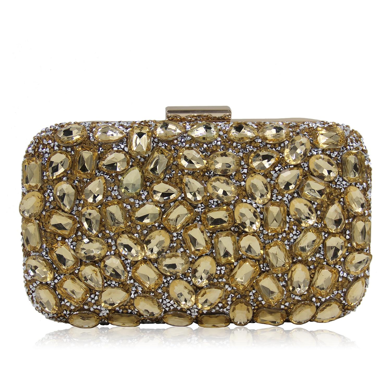 567d5560c2f8 2018 New PAVEL luxury Women Crystal Clutch Evening Bag Bridal Flower Diamond  Purse Wedding Party Prom Floral Handbag