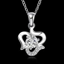 2015 western inlaid stones jewellery , contemporary design 925 silver necklace , pendant necklace vogue distinctive jewlery wholesale