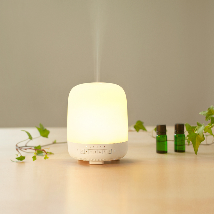 original emoi 6 in one smart aroma diffuser lamp bluetooth. Black Bedroom Furniture Sets. Home Design Ideas