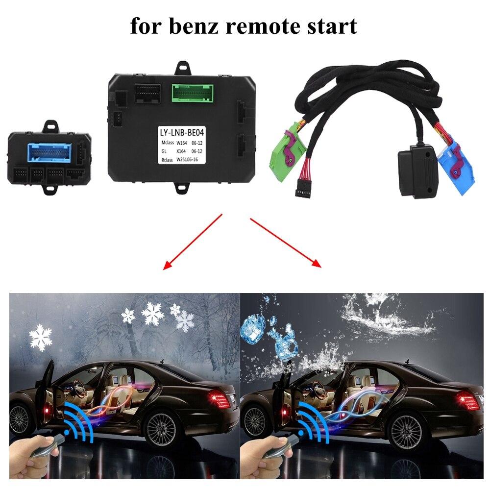 Arrêt à distance de démarrage de moteur de démarreur de voiture de PLUSOBD pour Benz ML W164 GL X164 R W251 Plug And Play aucune puce de clé d'usine à l'intérieur de la voiture