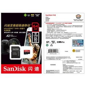 Image 5 - SanDisk Extreme PRO micro sd Card  32GB 400GB Read Speed 170MB/s memory card 128GB 64GB U3 V30 SDXC Flash Card TF Card 4K UHD