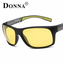 Donna Sports Polarized Sunglasses Men Driving Goggles Mens Sun Glasses Night Vision Glasses HD Lens night driving glasses D53