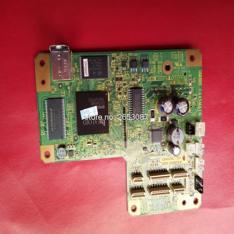 90% New original disassembled main board mother board logic board for EPSON printer L800 L801