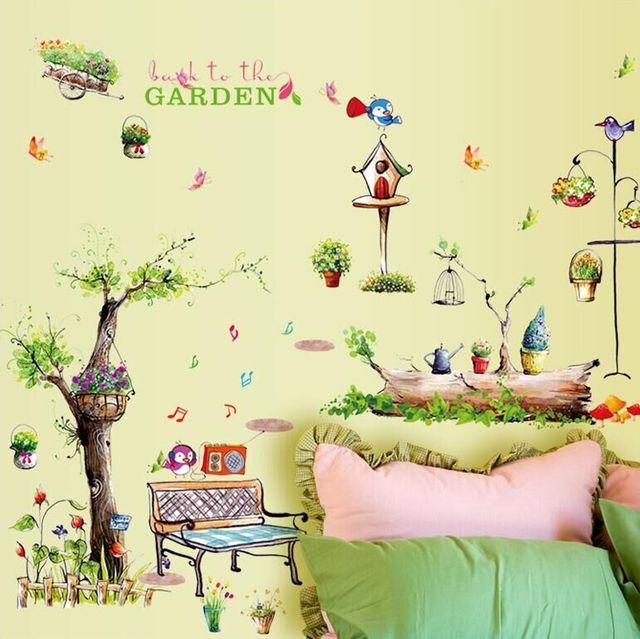 Wall Sticker Wall Decal Home Decor Adhesive Art Mural Diy Back To ...