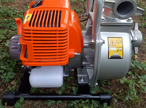 MINI Gasoline Engine Water Pump 1 Inch / 1.5 Inch Small Farm / Garden Irrigation Pump Self-priming Pump / Drainage Equipment