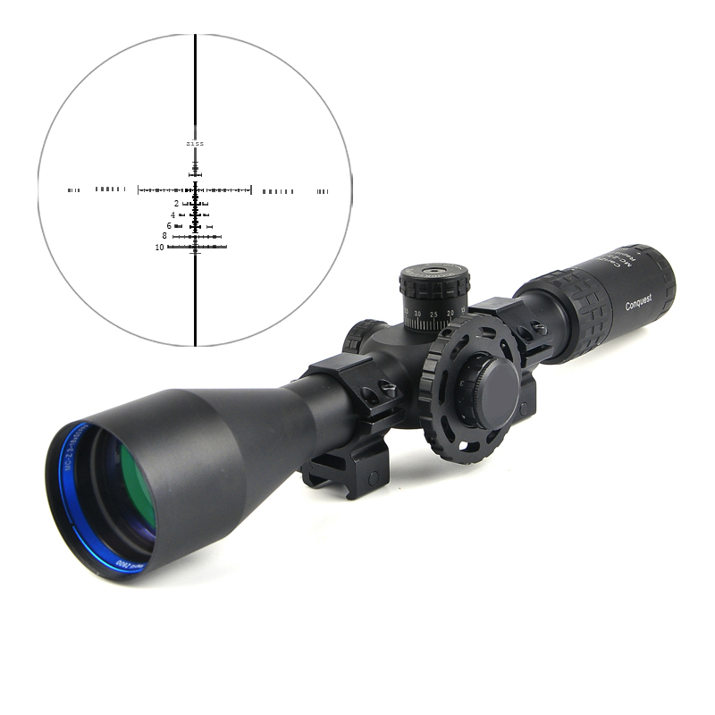 где купить 3-18X50 FFP Tactical Riflescope Mil Dot Side Parallax Adjustable Long Eye Relief Rifle Scope Hunting Scopes по лучшей цене