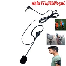 2016 Updated Version Referee Motorcycle outdoor Earhook headphone headset only suitable for V6 V4 FBIM V2-500C intercom headset