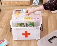 XSB41 XSB60 3M Portable Multi Layers First Aid Kit Medicine Receipts Household Medicine Kit