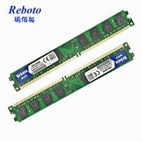 Reboto 4 GB (2 pcs X 2 GB) ram Memoria pour PC ComputerPC2-6400U 240Pin 1.8 V CL6 De Bureau mémoire