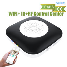 Geeklink Mini Thinker Smart Home Universal Remote Controller, WIFI+ IR+RF Control Center Compatible with Alexa for smart home