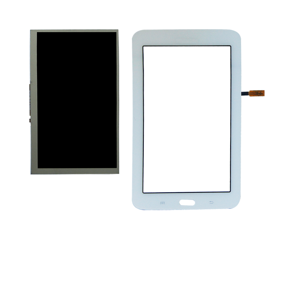 For Samsung Galaxy Tab 3 7.0 Lite SM-T110 T110 Touch Screen Digitizer +Lcd Display Replacement Free Shipping free shipping for samsung galaxy tab a 7 0 2016 sm t285 t285 touch digitizer lcd screen display assembly replacement